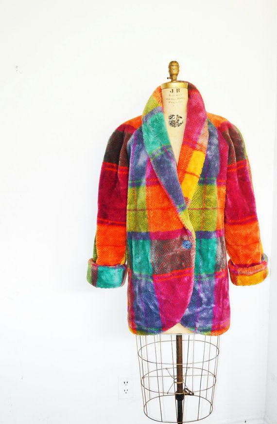 Vintage Donnybrook Coat Faux Fur Coat Vintage Faux Fur Coat Faux Fur Coat Fur Coat