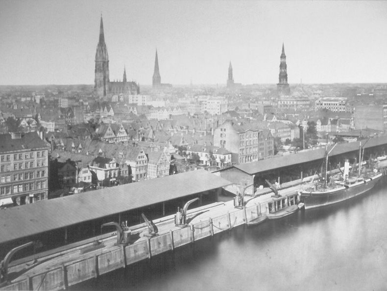 Sandtorhafen: Hamburger Hafengeschichte - Stiftung Hamburg Maritim