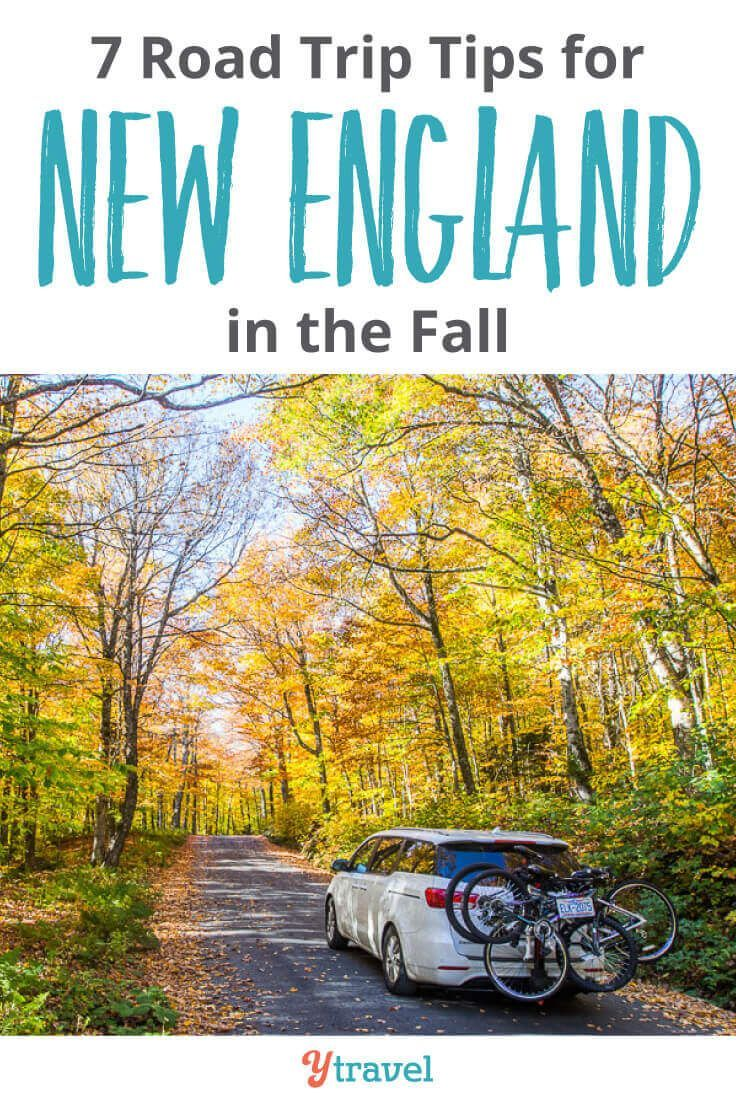7 Tips for Planning a New England Road Trip in the Fall