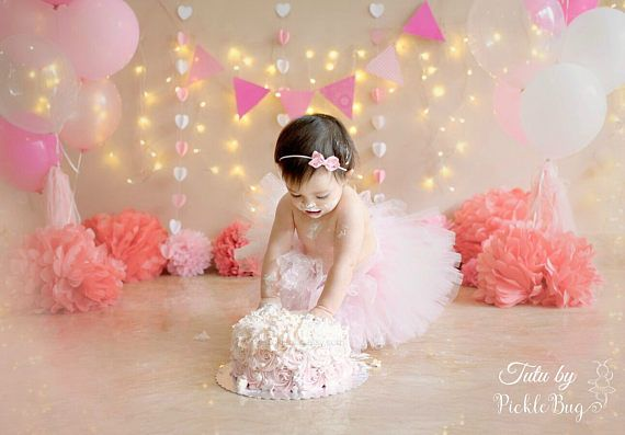 First Birthday Outfit Girl Tutu Cake Smash Outfit Girl Tutu Cake