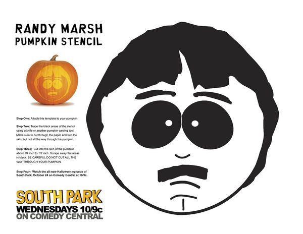 South Park Pumpkin Stencil Halloween Pumpkin Stencils Pumpkin Stencil Halloween Stencils
