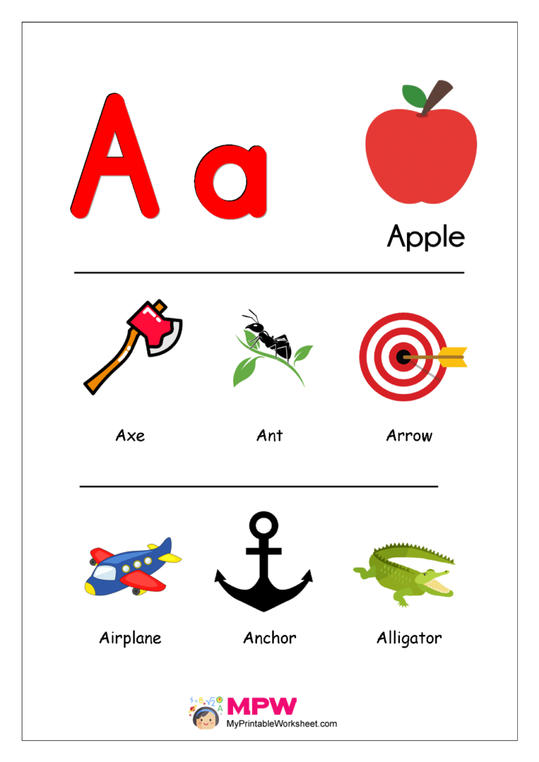 Things That Start With A B C D E For Preschool Printable Worksheet Preschool Alphabet Learning Kindergarten Worksheets Printable Alphabet Worksheets Free [ 1086 x 768 Pixel ]