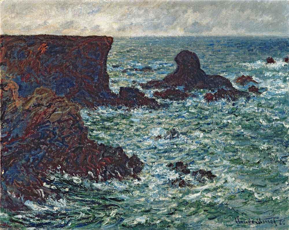 Rocks at Port-Coton, the Lion, 1886