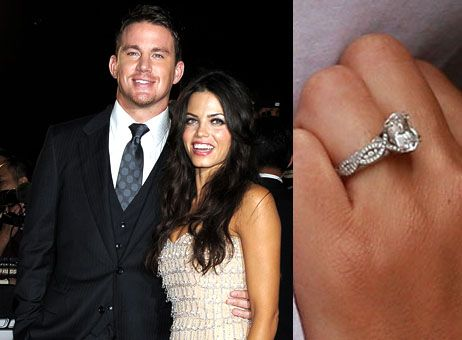 Celebrity Antique Inspired Engagement Rings