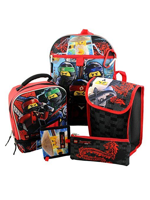 63c7fb37a2 Get your child ready for school with this Yankee Toy Box exclusive Lego  Ninjago 6 piece backpack and lunch box set! This set makes organizing a  breeze.
