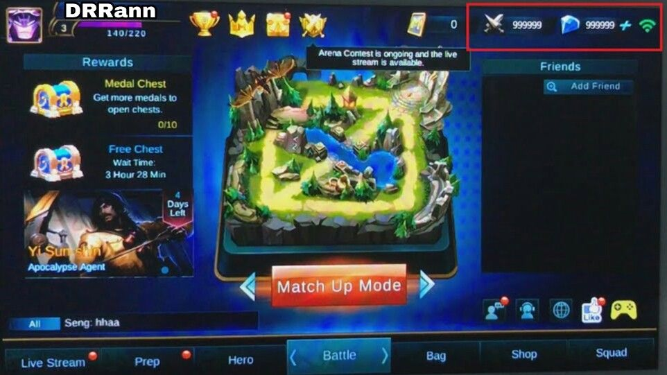 Mobile Legends -- Choose Your Story Hack IOS - Require to