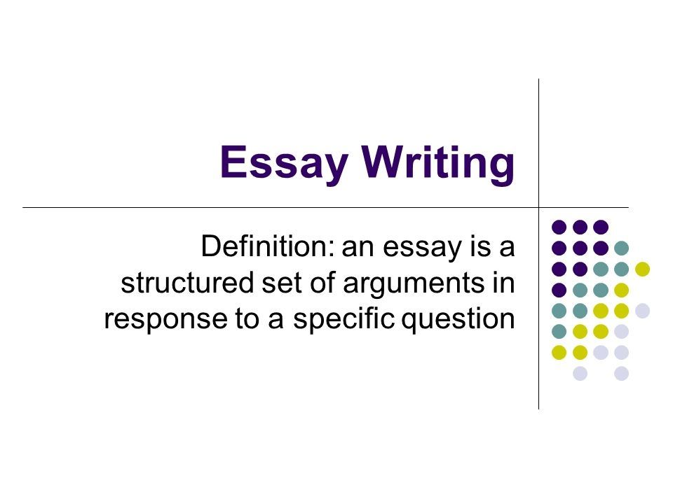 Drexel essay requirements