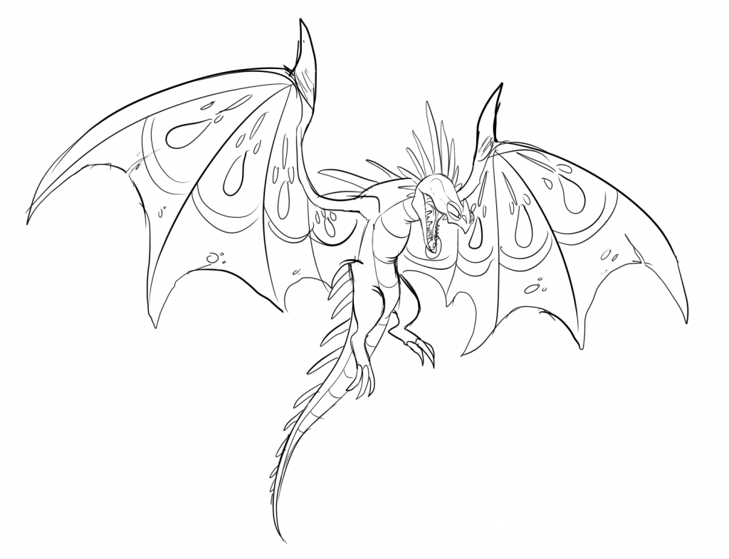 Quick sketch School of Dragons