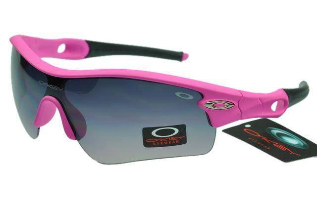 0335c642f574 Oakley Radar Sunglasses Black Pink Frame Black Lens 1047