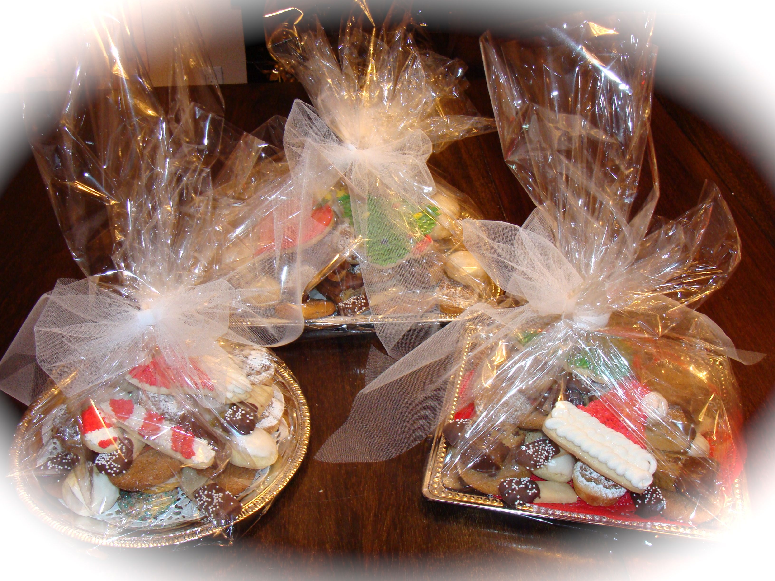 Christmas Cookie Trays Christmas Crafts For Gifts