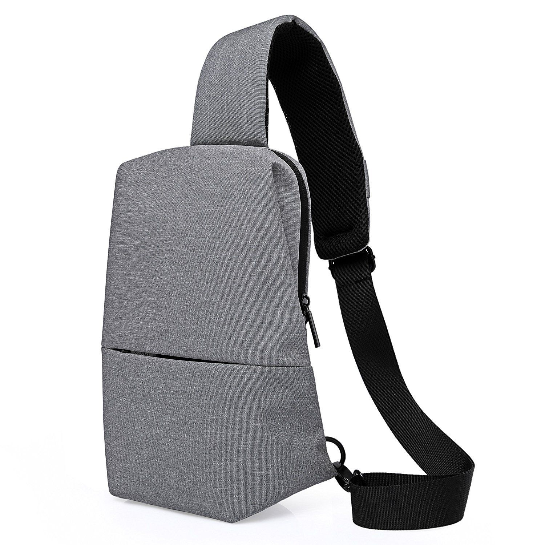 Unisex Waterproof Sling Bag Shoulder Backpack Chest Pack Crossbody Travel Bag