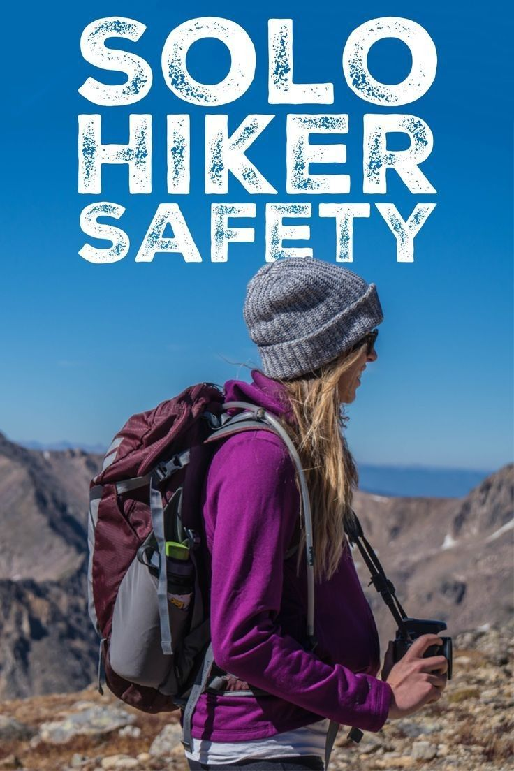 Going Solo: Tips for Safely Hiking Alone #extendedfamilyphotography