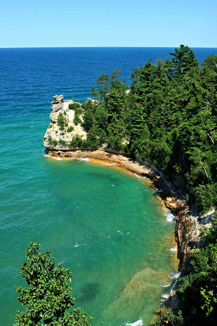 Pictured Rocks National Lakeshore, Upper Penninsula Michigan