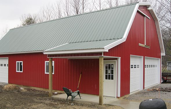 Chelsea lumber gardening outdoor living pinterest pole barn plans gambrel roof and barn - Gambrel pole barns style ...