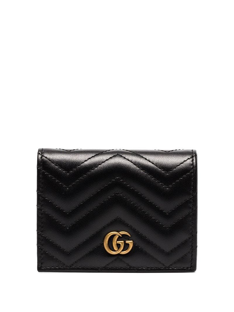 Gucci gg marmont card case farfetch in 2020 gucci