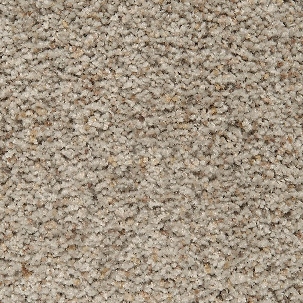Mohawk Carpet Sample - Riley I - Color Olympia Textured 8 in. x 8 in.