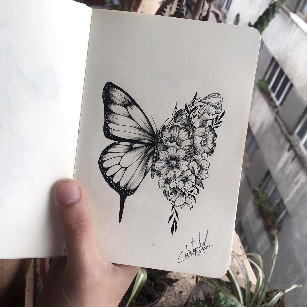 "Shawn Mendes Butterfly Tattoo: Christ TATTXX On Instagram: ""This Is The Original Design"