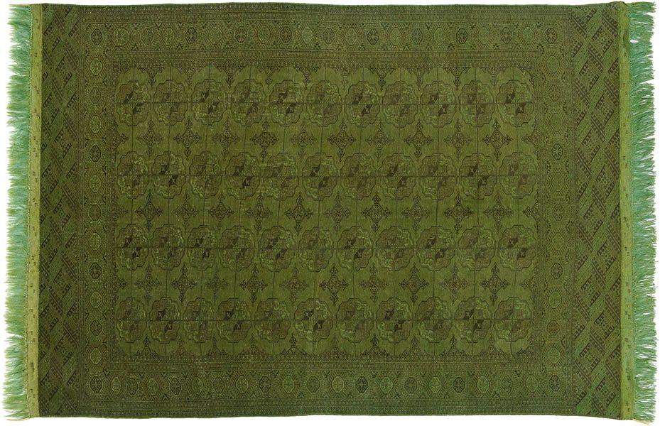 Grün\u2026 Teppich, Orientteppich, Vintage Teppich, gefärbt, KISKAN
