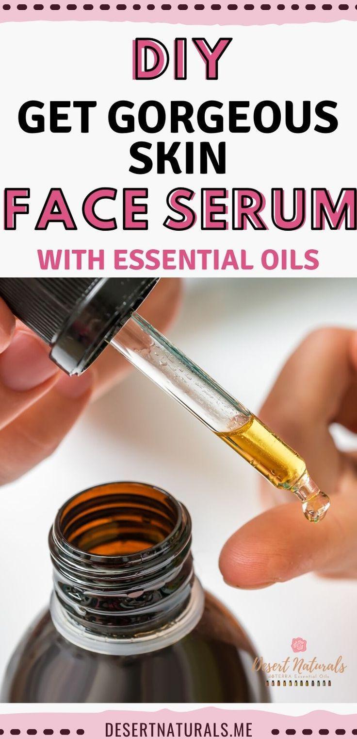 DIY Facial Serum for beautiful, glowing skin in 2020