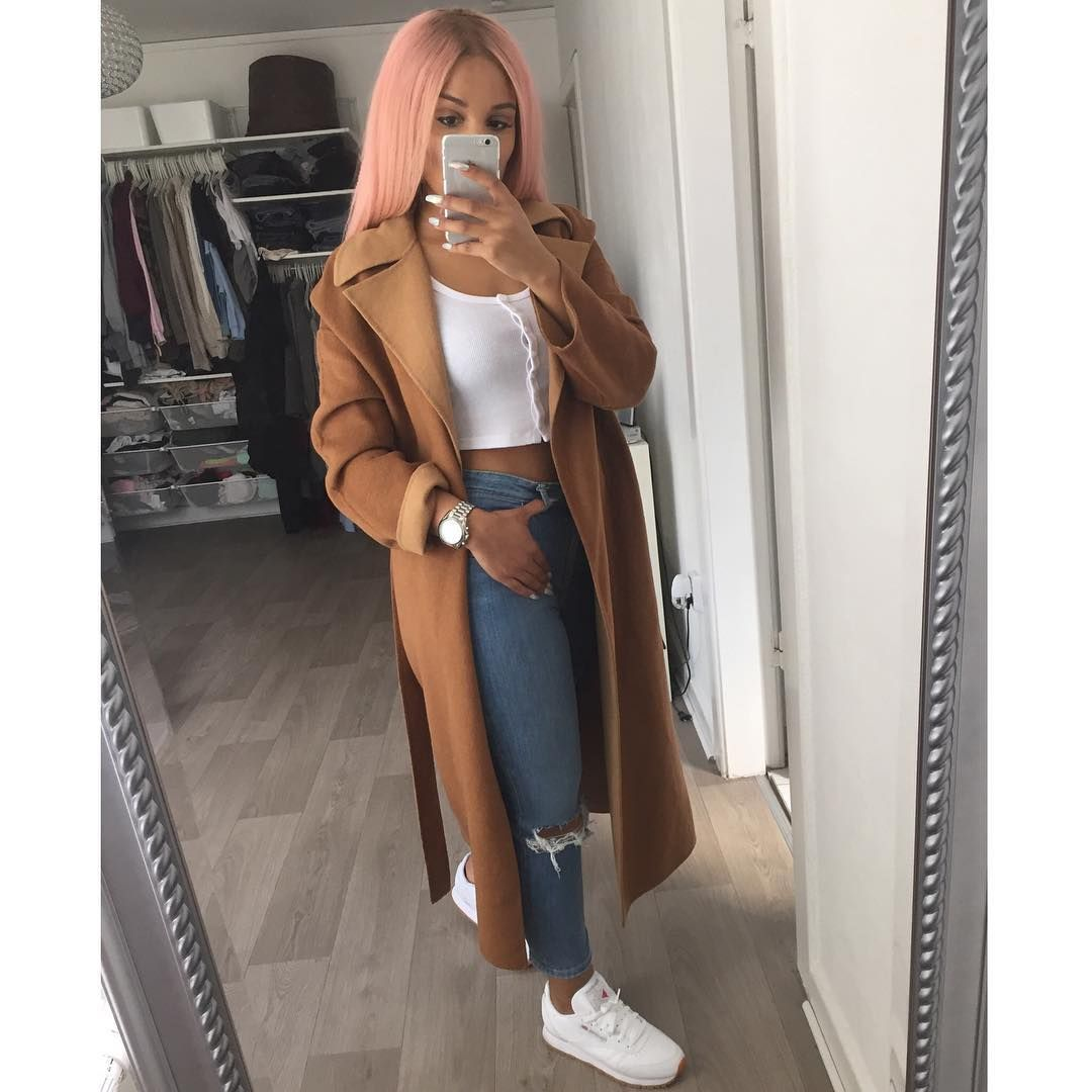 Sherlina Sherlinanym Instagram Photos And Videos Sherlinanym Pinterest Trench Urban