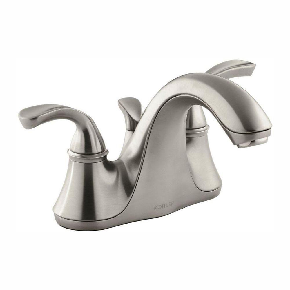 Kohler Forte 4 In Centerset 2 Handle Low Arc Water Saving Faucet