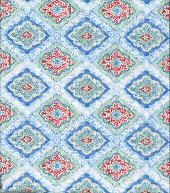 Keepsake Calico Cotton Fabric - Medallion Blue