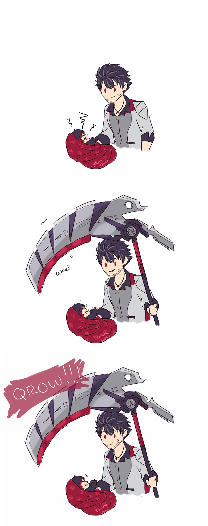 Does little ruby like the instrument of death rwby - Ruby rose rule 34 ...
