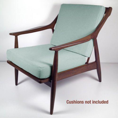 Vintage Mid Century Danish Modern Lounge Chair Retro Armchair Restored Danish Modern Lounge Chair Retro Armchair Retro Chair
