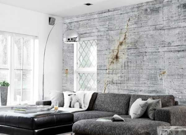 Modern Wallpaper Patterns Creating Realistic Concrete Wall ...