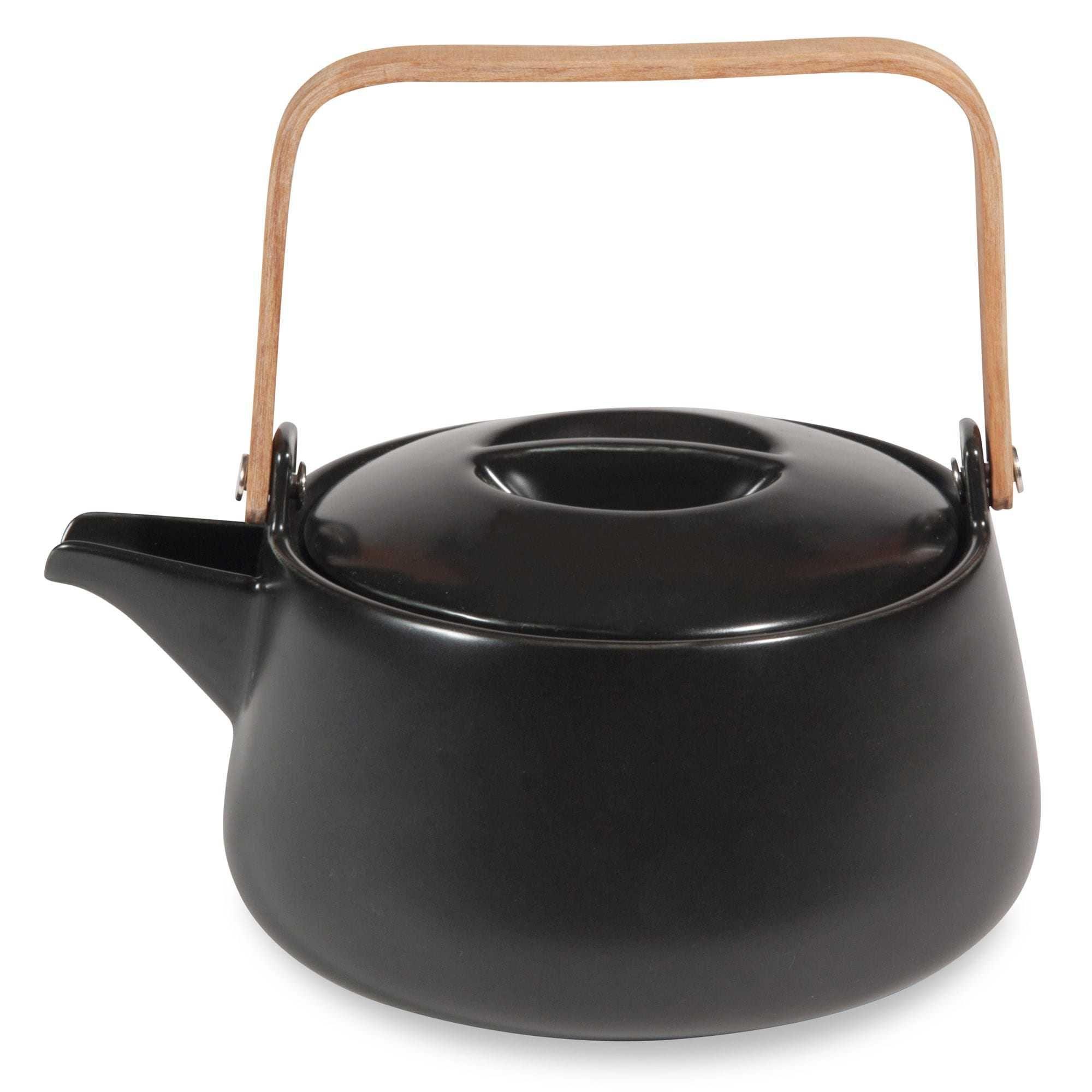 Teiera in porcellana nera 1L LAGOS