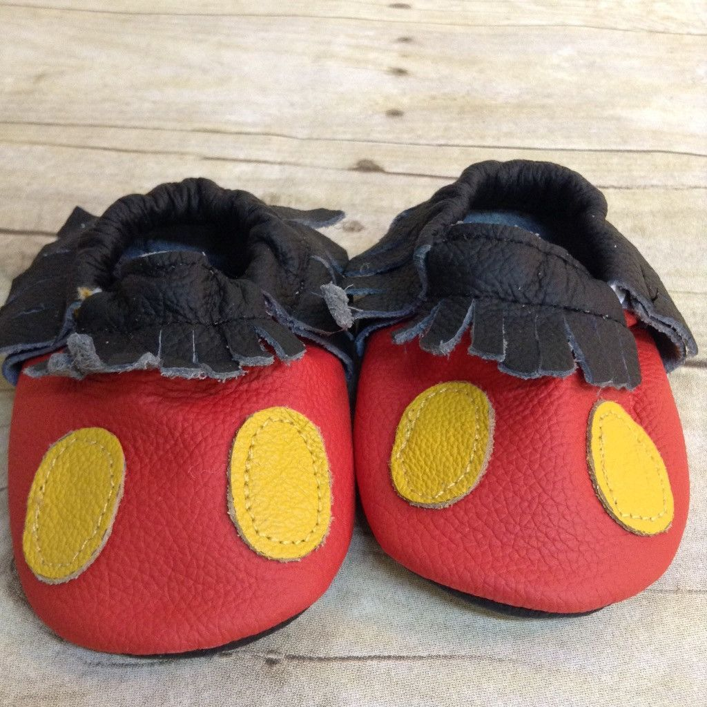 Mickey Mouse Moccasins | Mickey mouse