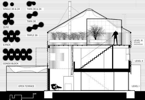 house in a can recycles grain silos into housing - Cylinder Home Floor Plans