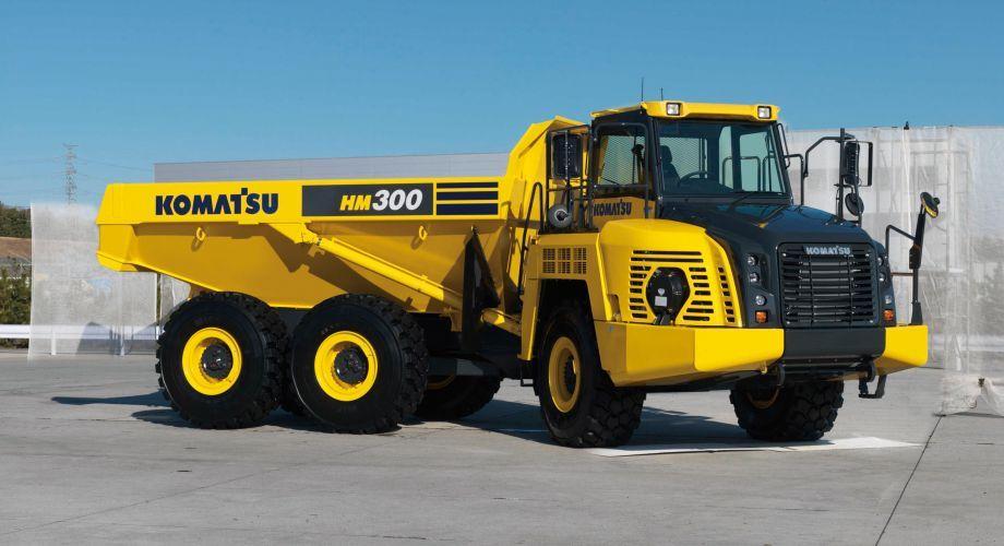 Komatsu America Corp  Introduces the HM300-5 Articulated