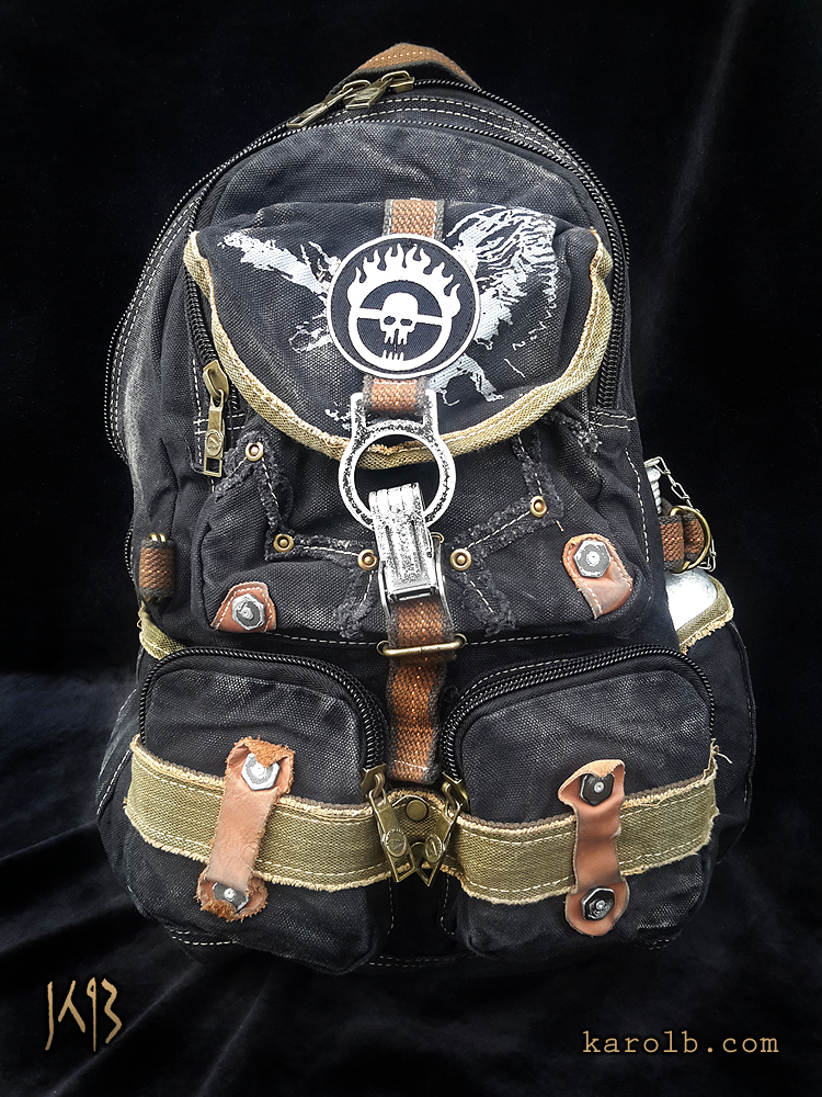 cbca1f5ece08 Atomic Slug Backpack - War Boy Edition Mad Max Fury Road