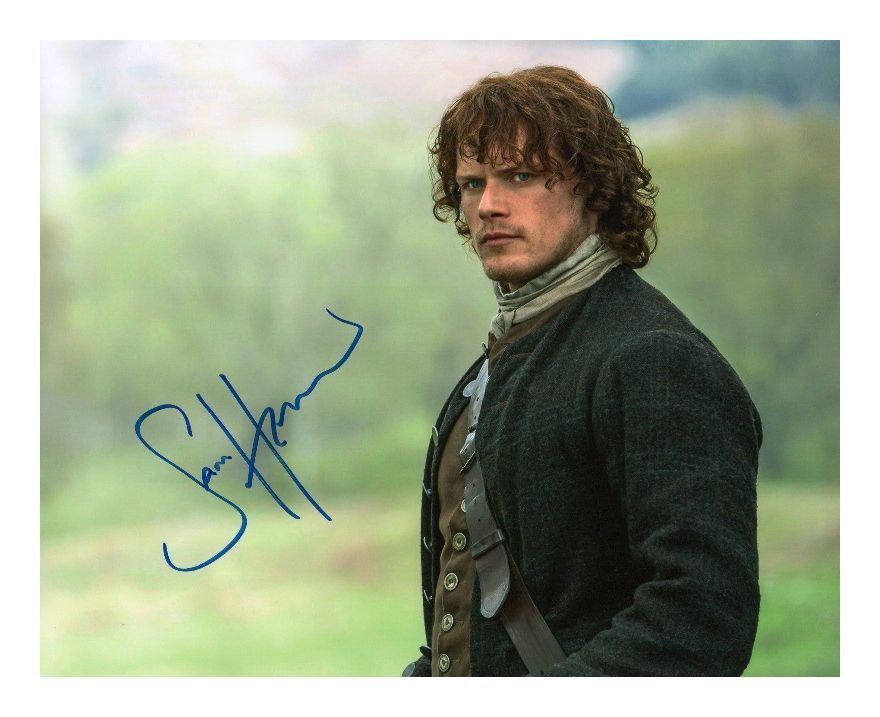 OUTLANDER CAITRIONA BALFE /& SAM HEUGHAN AUTOGRAPHED SIGNED A4 PP POSTER PHOTO D