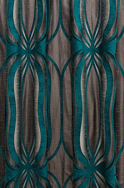 teal curtains for living room blue sofa in orion curtain fabric the home 2019