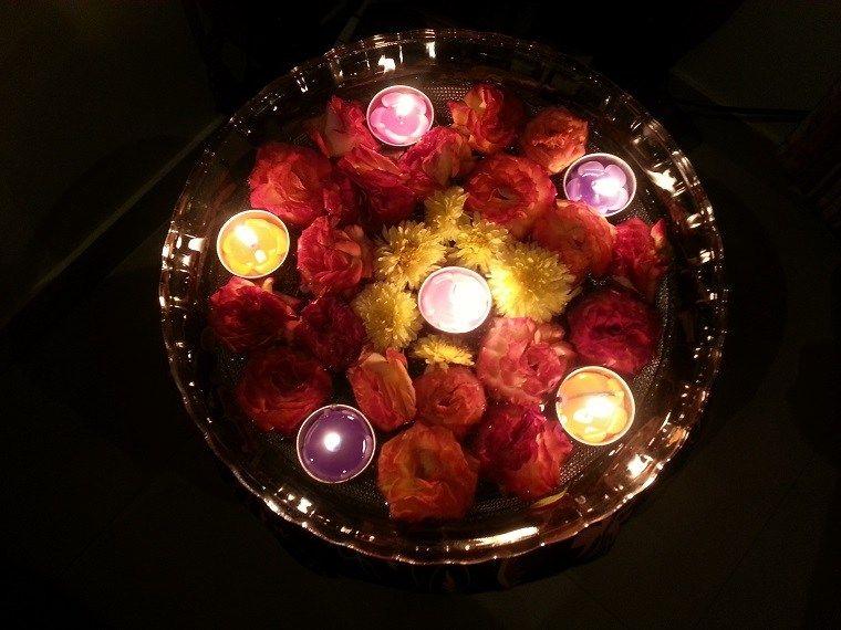 Wie man schwimmende Kerzen macht \u2013 50 einfache Ideen Bricomania
