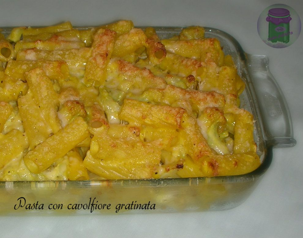 Ricette pasta con cavolfiore bianco