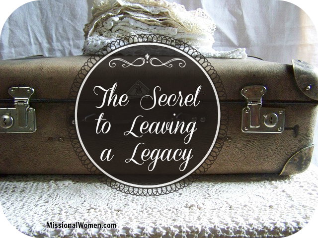 How to Leave  Legacy