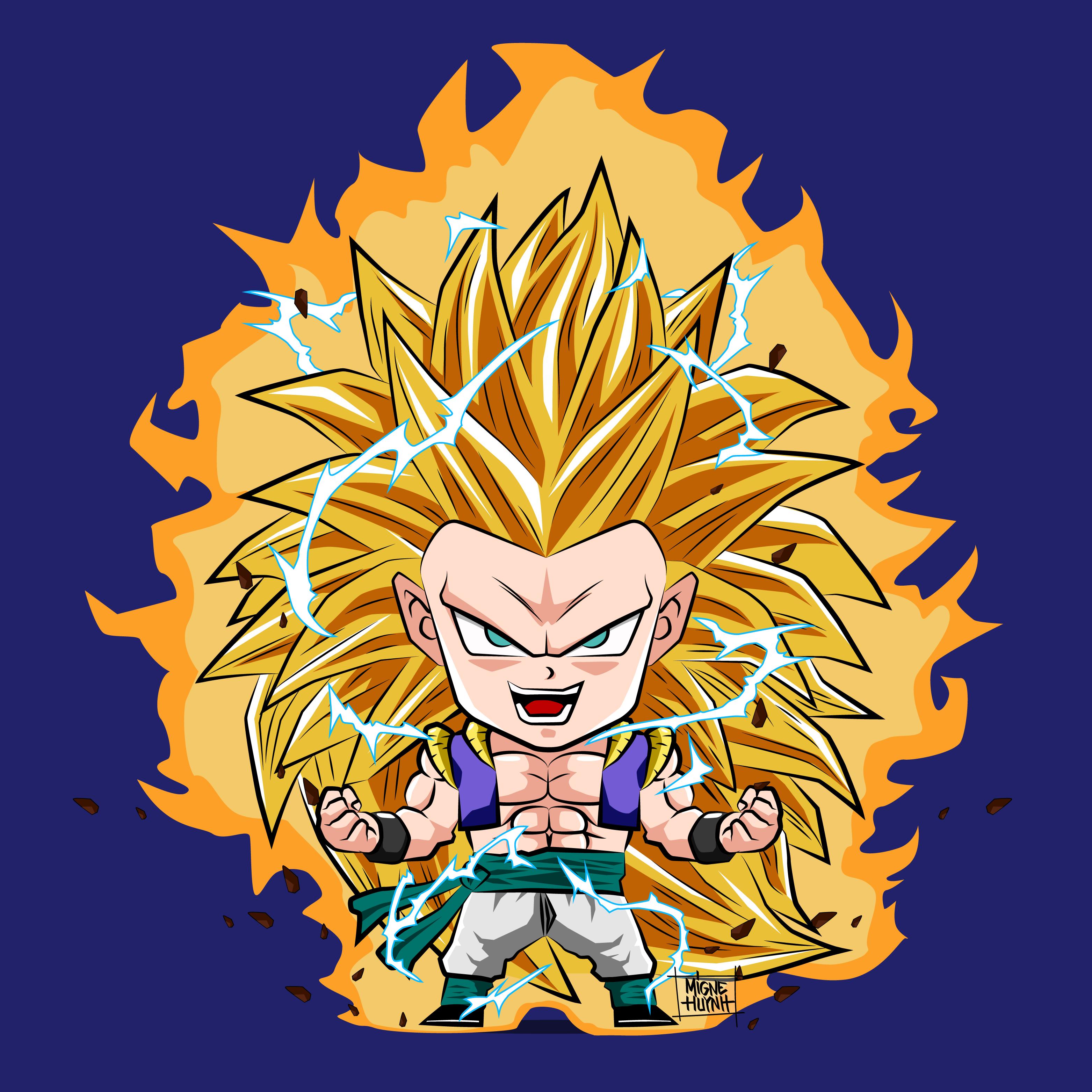 ����gotenks ssj3���� by mr shoryuken dragon ball