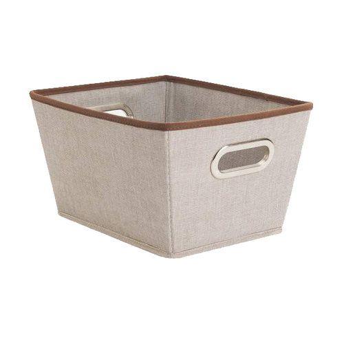 Merveilleux Canopy Medium Storage Bin, Rich Brown   Price May Vary (16x13x11)