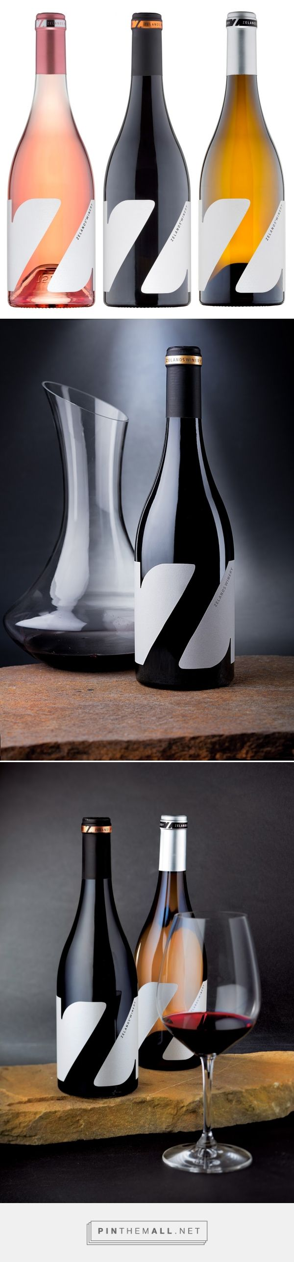 Z Wine Labels design by The Labelmaker - http://www.packagingoftheworld.com/2016/10/z-wine-labels.html