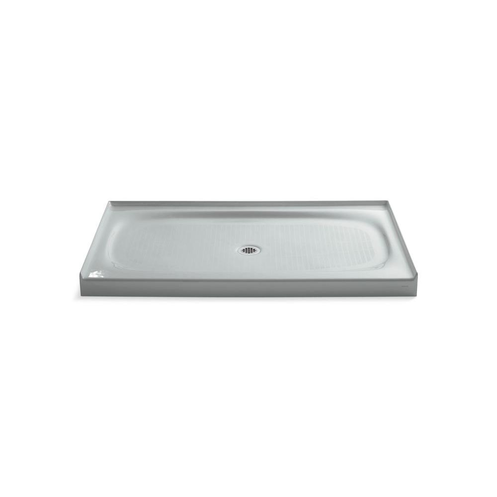 Kohler Salient 60 In X 36 In Single Threshold Shower Base In Ice
