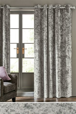 Check Out These Crushed Velvet Curtains Wouldn T They Add A