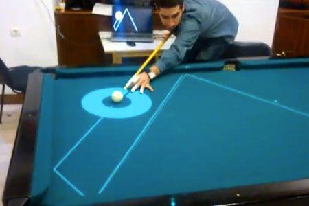 HighTech Pool Table Uses Frickin Laser Beams To Make Anyone A Pro - Pool table pocket shims