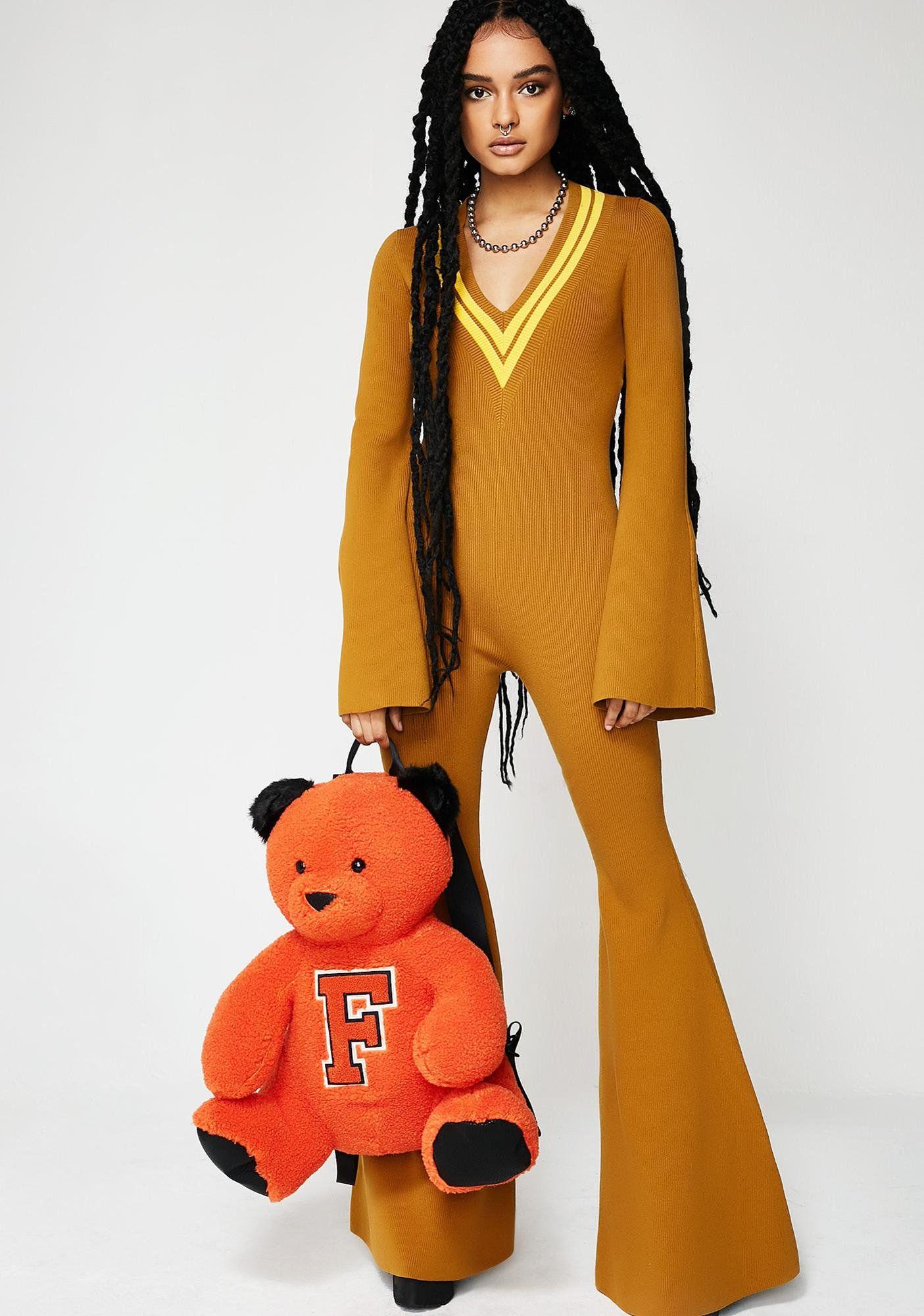 686cc46363b PUMA FENTY PUMA By Rihanna Deep V Sweater Knit One Piece