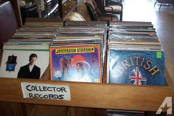 vintage vinyl LPs Modern Salvage END OF SALE DAYS four for a buck