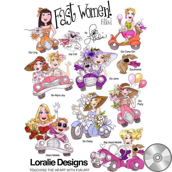 Schnelle Frauen gefüllte Stickerei-Entwurfs-Sammlung    CD