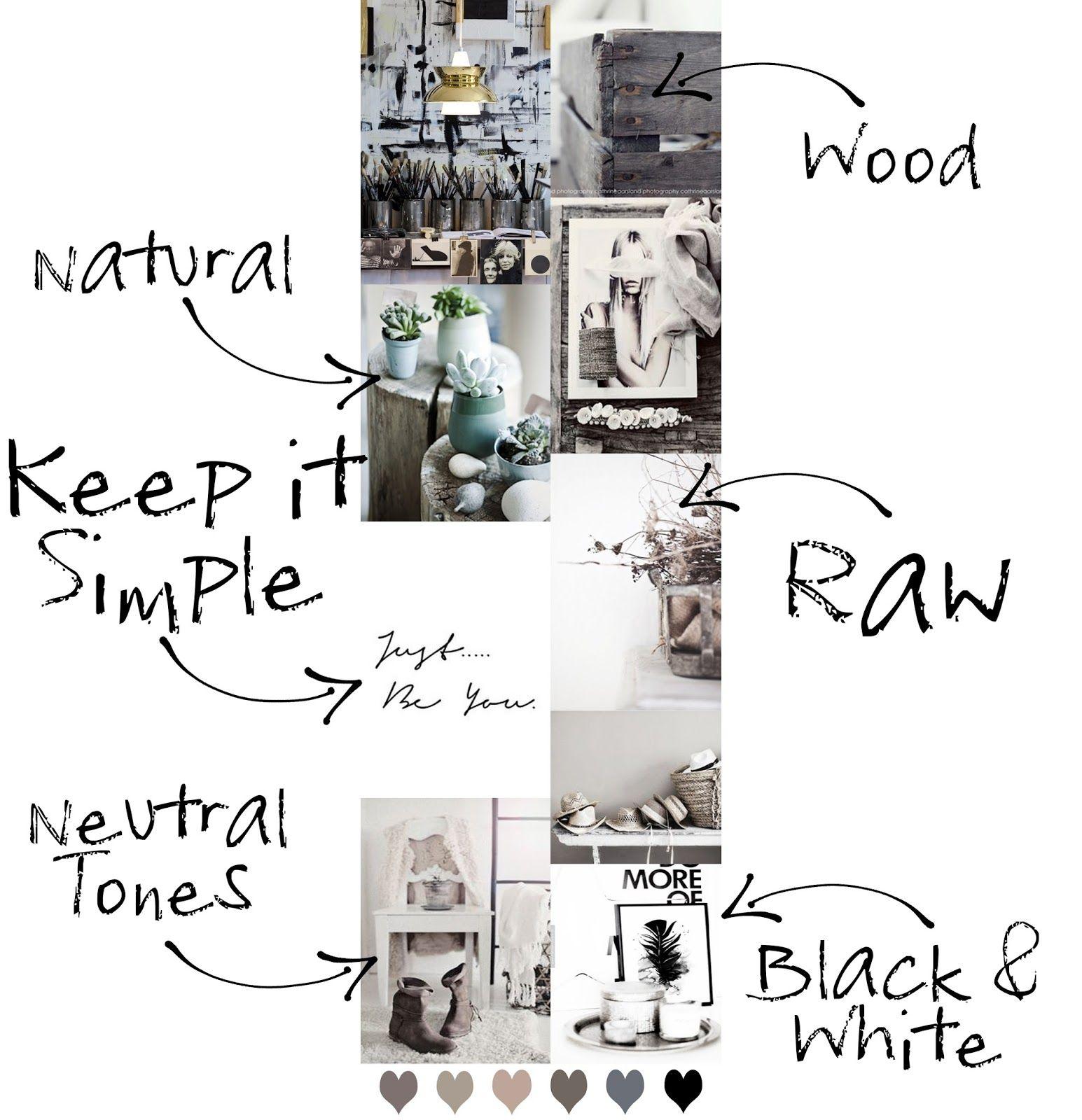 mood board: scegliere l'arredamento / choosing interior design ... - Arredamento Interior Design