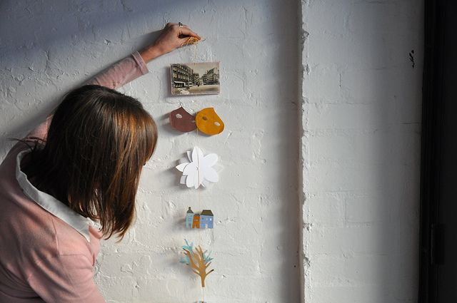 Paper Folk - Making Mobiles with Beci Orpin by harvest textiles | harvest workroom, via Flickr